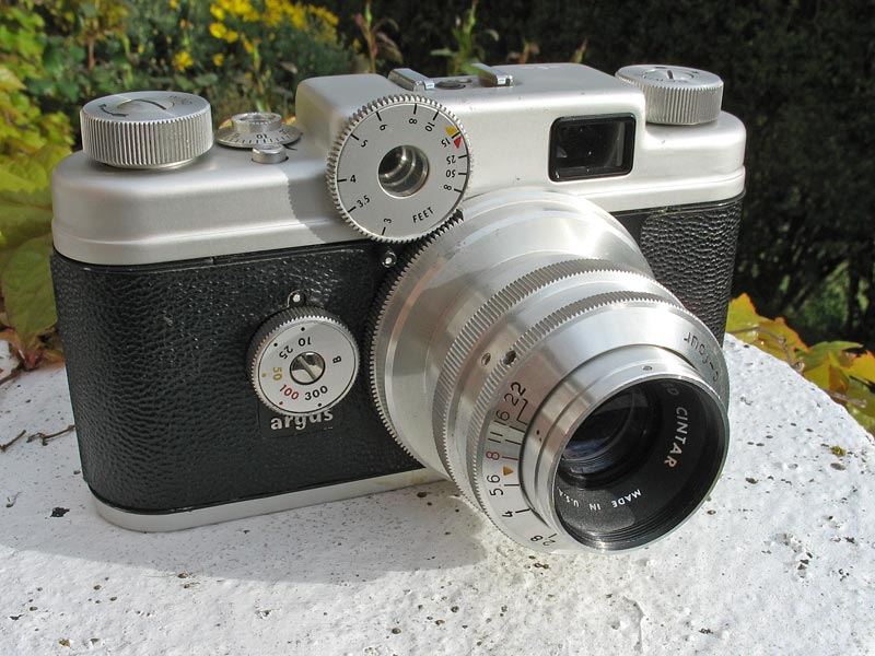 Argus C4 35mm rangefinder camera