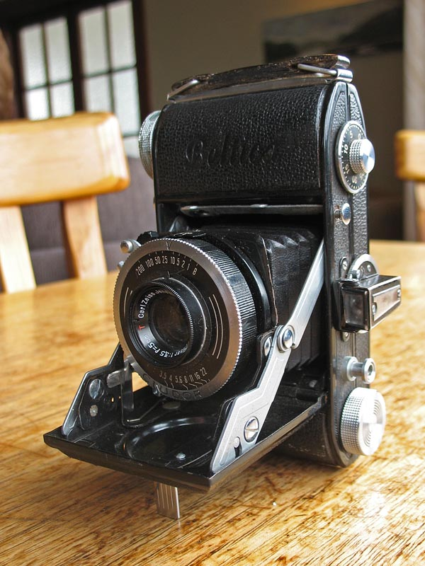 Belca Beltica folding 35mm camera