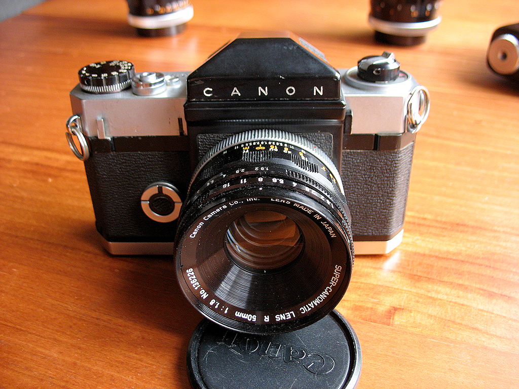 Canon Canonflex 35mm SLR camera