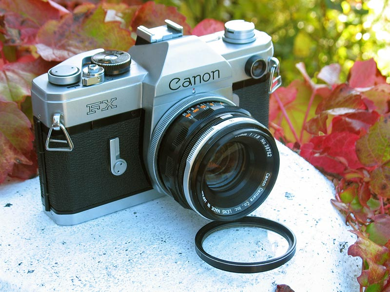 Canon FX 35mm SLR camera