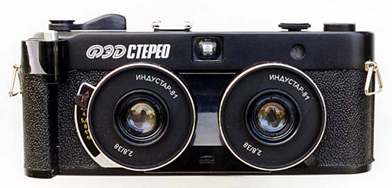 Fed Stereo 35mm camera