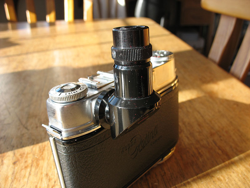 Kodak Retina right-angle viewfinder adapter for sale