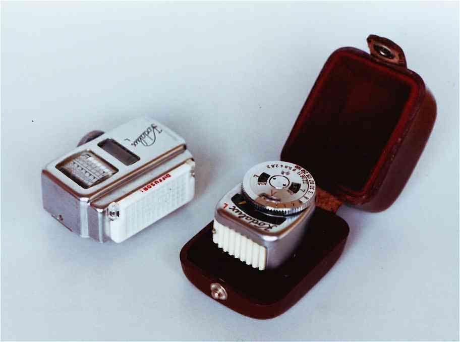 Instructions For Kodalux Exposure Meters