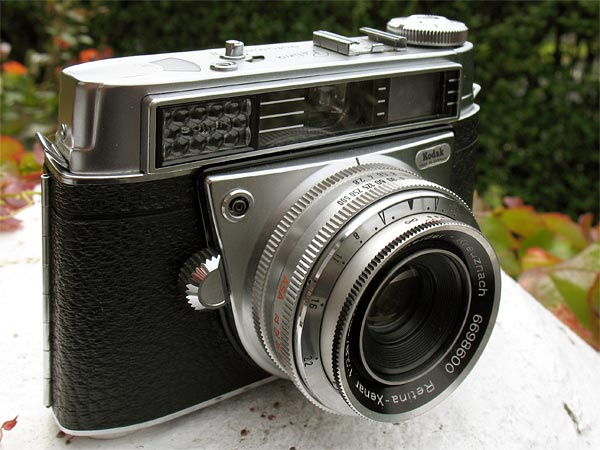 Kodak Retina Automatic II 35mm viewfinder camera