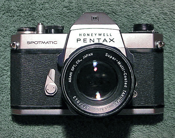 Pentax Spotmatic II with mirror-lockup