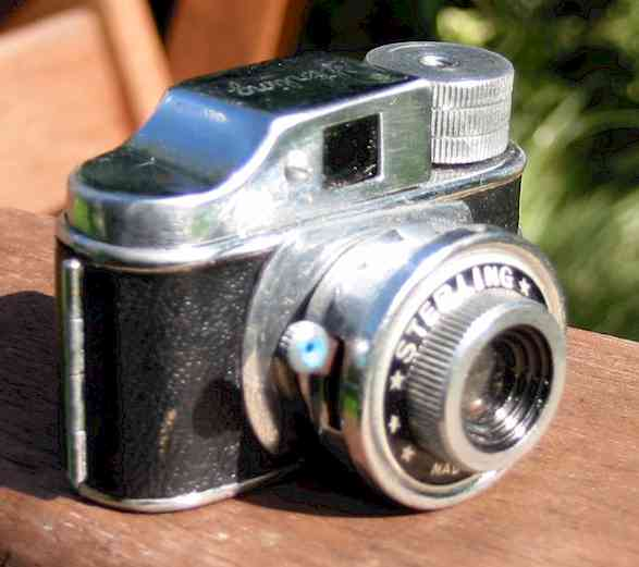 Stirling subminiature camera
