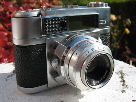 Braun Paxette Super IIL 35mm rangefinder  camera