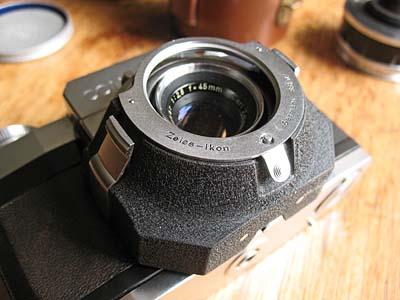 Zeiss Ikon Contaflex Teleskop 1 7X lens