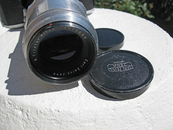 Carl Zeiss Triotar 135mm f/4.0 lens for sale